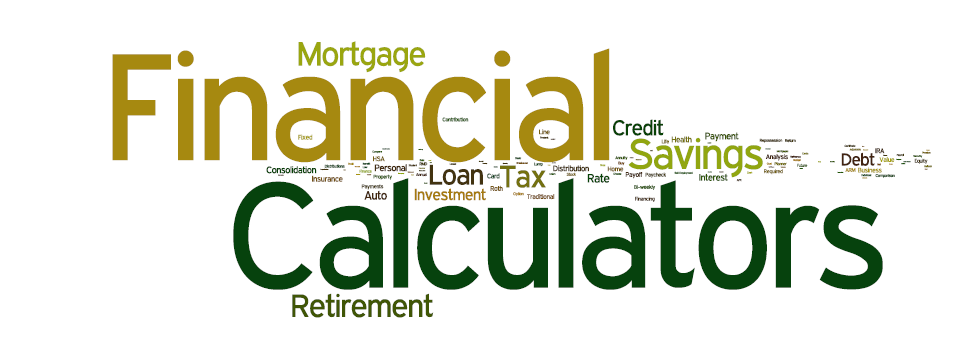 Financial Calculators Wordle